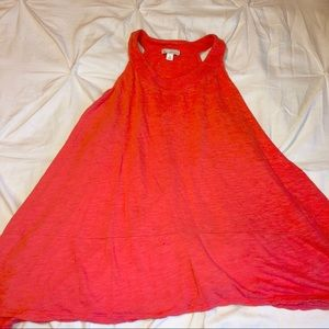 Selling this dress, shirt and heels (Orange)